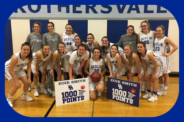 Mountaineer Senior surpassed the 1,000 point milestone