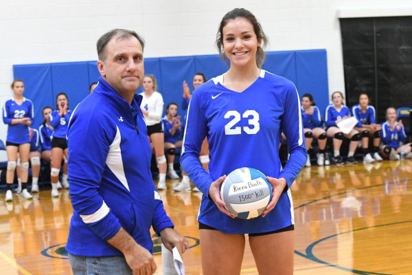 Congratulations on 1,500 kills in Volleyball!