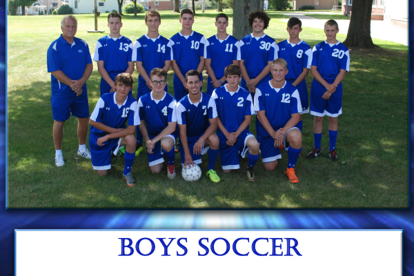 Varsity Mountaineer Boys Soccer Team