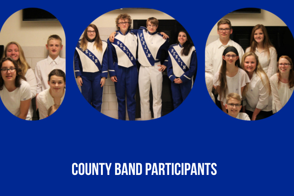 Thank you for representing BBSD at County Band!
