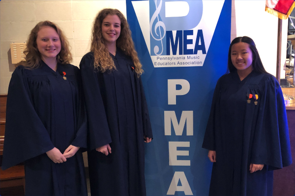 Congratulations to our PMEA District 6 Chorus students!