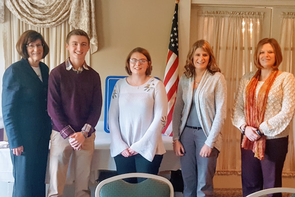 Congratulations to our top BBHS Seniors who were recognized by the Exchange Club!
