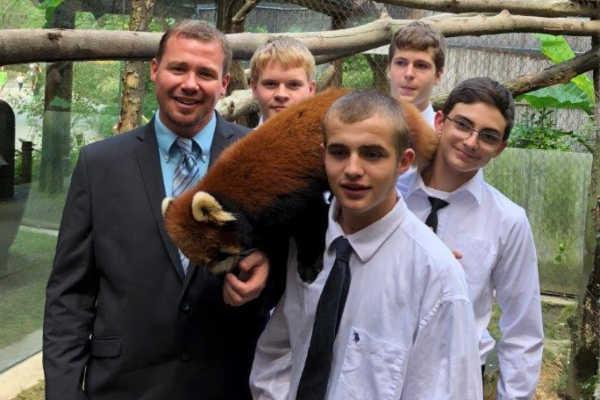 FFA Students visit the Pittsburgh Zoo