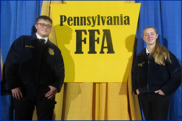 Congratulations for earning the FFA Keystone Degree at the Farm Show!