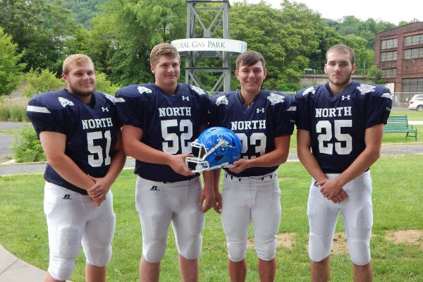 Ken Lantzy All-Star Football Players representing BBSD