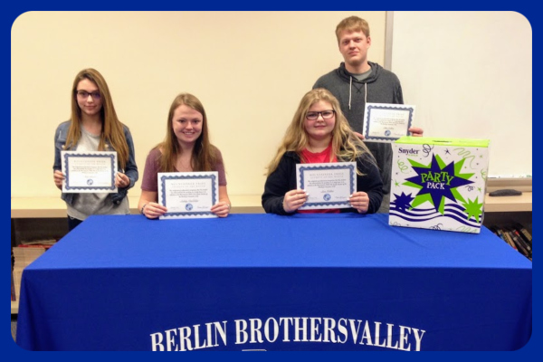 Congratulations to the Mountaineer PRIDE Students of the Month for December!