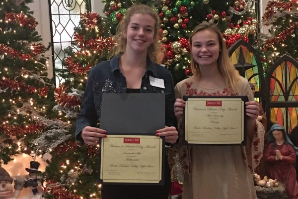 Congratulations to the 2018 Seton Hill University Women in Science and Mathematics Scholarship Awardees!