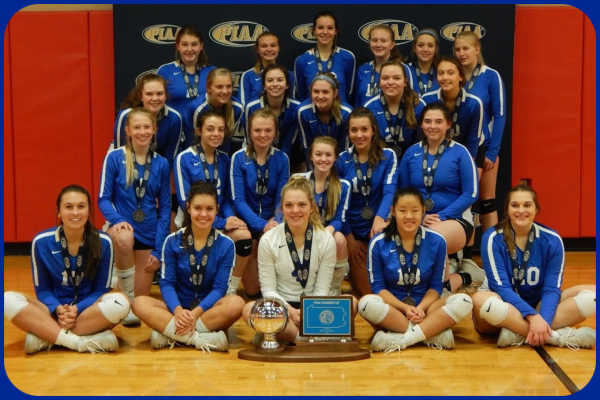 Congratulations to our State Runner-Up Volleyball Team!