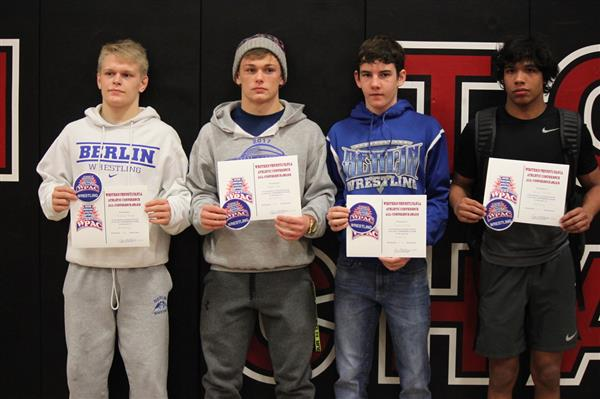 Congratulations to our WestPAC Award Wrestlers!