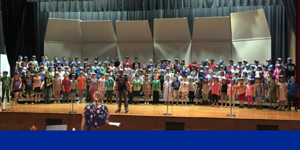 Students practice for their Spring Musical Program