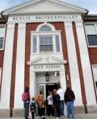 Berlin Brothersvalley High School Enterance